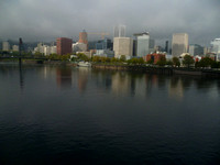 Willamette River south to Hawthorne Bridge